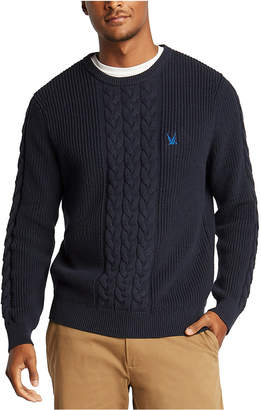 Nautica Men Blue Sail Classic-Fit Cable Knit Sweater
