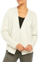 Eileen Fisher Open Front Silk Jacket