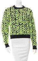 Balenciaga Printed Crew Neck Sweater w/ Tags