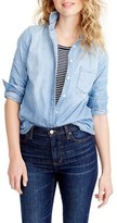 J.Crew Petite Women's Always Chambray Shirt