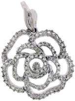 Vera Wang Love Collection 14K White Gold with Diamond Pendant