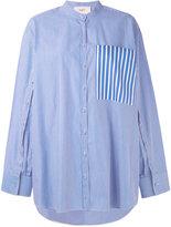 Ports 1961 chest pocket cape shirt - women - Cotton - 38
