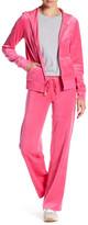 Juicy Couture Mar Vista Velour Straight Leg Pant