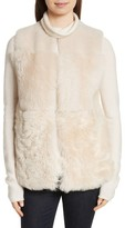 Theory Women's Patchwork Shearling Vest