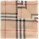 Burberry 'House Check' scarf - women - Silk/Viscose/Wool/Metallic Fibre - One Size
