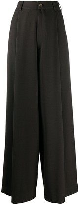 Societe Anonyme Wide Leg Tailored Trousers