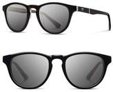 Shwood Men's 'Francis - Pendleton' 48Mm Polarized Sunglasses - Black Rancho Arroyo/ Brown
