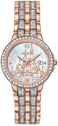 Disney Fantasyland Castle Eco-Drive Watch for Women by Citizen Limited Edition