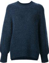 3.1 Phillip Lim crew neck jumper - women - Polyester/Mohair/Wool/Spandex/Elastane - M