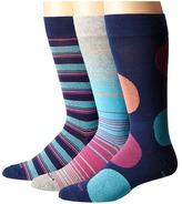 Steve Madden 3-Pack Fashion Crew Socks Men's Crew Cut Socks Shoes