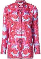Versace baroque print shirt