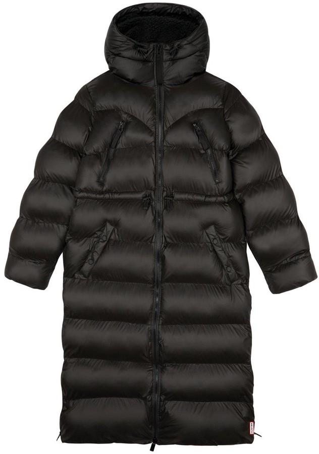 Thumbnail for your product : Hunter Original Long Padded Coat - Black