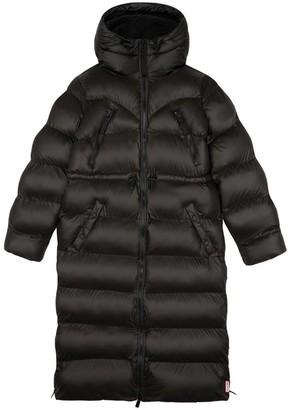 Hunter Original Long Padded Coat - Black