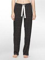 Calvin Klein Womens Collage Jersey Pajama Pants Underwear