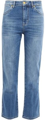 Victoria Victoria Beckham Victoria, Victoria Beckham Faded High-rise Straight-leg Jeans