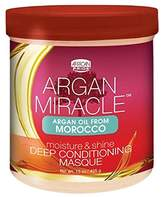 African Pride Argan Miracle Deep Conditioning Masque, 15 Ounce