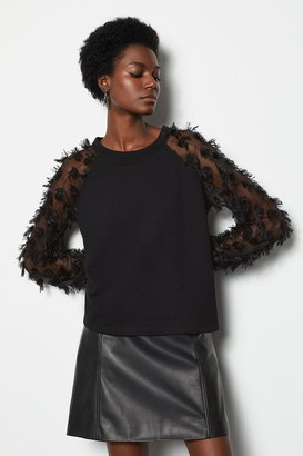 Karen Millen Feather Sweater