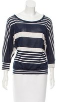 Needle & Thread Striped Pattern Knit Top