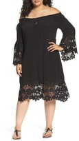 Women's Muche Et Muchette Jolie Lace Accent Cover-Up Dress