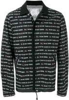 Sacai All In Due Course printed jacket