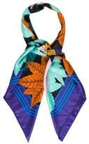 Hermes Les Perroquets Silk Shawl
