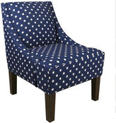 JCPenney Paige Chair - Ikat Dots Print