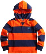 Chaps Toddler Boy Rugby Striped Hoodie