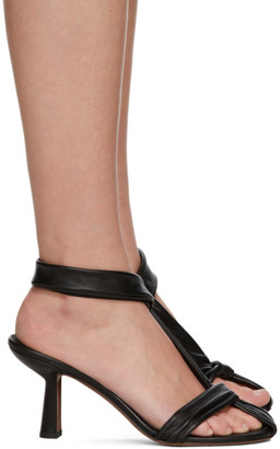 Neous Black Proxima 80 Heeled Sandals