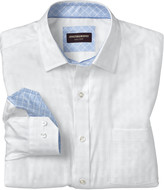 Johnston & Murphy Tonal Basketweave Shirt