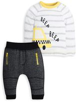Kids Clothing- Mini Club Brand 15 Mini Club Baby Boys Top and Jogger Set Taxi