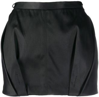Gianfranco Ferré Pre-Owned 1990s Draped Detailed Mini Skirt