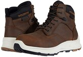 Wolverine ShiftPLUS Work LX 6 Alloy-Toe Boot (Brown) Men's Work Lace-up Boots