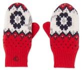 Petit Bateau Girls Jacquard knit mittens