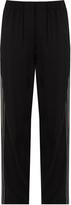 Vince Wide-leg crepe trousers