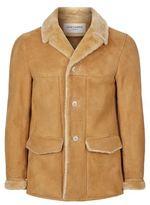 Saint Laurent Western Shearling Coat