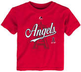 Majestic Los Angeles Angels of Anaheim The Game Cotton T-Shirt, Toddler Boys (2T-4T)