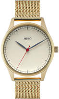 Miro Classic creme and gold watch