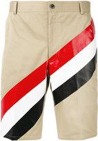 Thom Browne striped shorts - men - Cotton - 0
