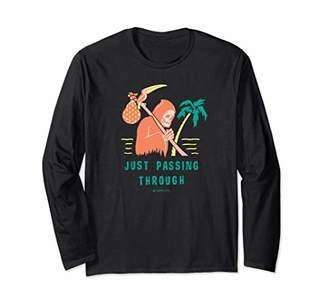 Neff Grim Reaper Beach Stroll Long Sleeve T-Shirt