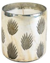 Frosted Noel Small Mercury Jar Candle