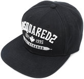DSQUARED2 embroidered 'Brotherhood' cap - men - Acrylic - One Size