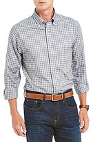 Daniel Cremieux Signature Check Dobby Oxford Long-Sleeve Woven Shirt