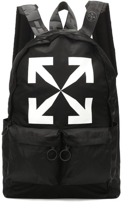Off-White Off White Printed nylon backpack
