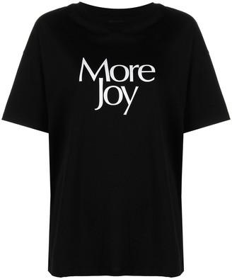 More Joy print T-shirt