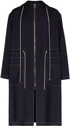 Uniforme Hooded Wool Parka Coat