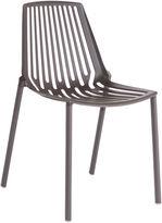 Janus et Cie Rion Outdoor Side Chair, Espresso