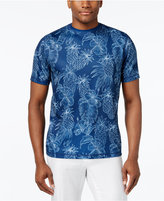 Tasso Elba Men's Pineapple-Print T-Shirt, Only at Macy's