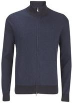 Polo Ralph Lauren Men's Full Zip Athletic Sweatshirt Indigo Stripe