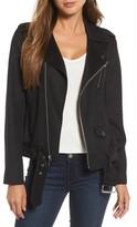 MICHAEL Michael Kors Women's Wool Blend Moto Jacket