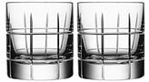 Orrefors Street Specialty Drinkware by Jan Johansson Whiskey Glass, Set of 2